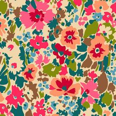 Liberty Lifestyle - Bloomsbury Collection - Garnett - Colourway C - LLBC07383251C