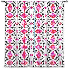 Amazon Window Curtains Lined From DiaNoche Designs Unique Decorative Funky