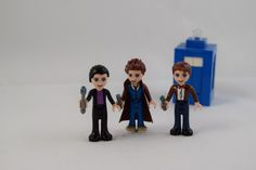 Doctor Who Jon Lazar (previously), a New York-based social media consultant, has created a fun line of customized LEGO Friends mini-dolls (which have different proportions from LEGO minifigures) tu...