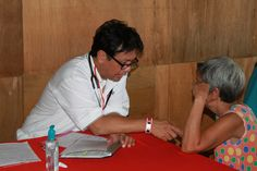 One of our medical Missions to the Philippines. This beautiful lady had never seen a doctor!