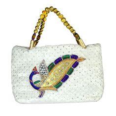 Lovely Velvet Embroidered Party Womens Hand Made Bag inaugural Summer Sale ! #Arishakreationco #HandBag