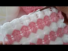 Tunisian Crochet, Crochet Stitches, Blanket, Knitting, Tricot, Craft, Knitting Videos, Bedspreads, Learn Crochet