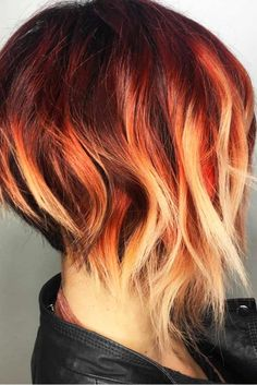 Bold and Beautiful Ombre Short Hair Styles for a Brave New Look ★ See more: http://lovehairstyles.com/ombre-short-hair-styles/
