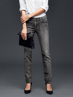 """AUTHENTIC 1969 real straight jeans - The one youll wear forever.<br><br>These jeans were made by women that participate in <a href=""""http://www.gap.com/pace""""> P.A.C.E. </a>, our education program that gives women the skills and confidence to change their lives."""