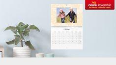 Unikátny kalendár s vlastnými fotografiami.