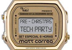 Pre Christmas Party @ Oh Yoko! Marbella 2012 December 22