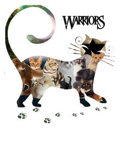 """""""Warriors Cats!"""" by sa-rlow ❤ liked on Polyvore featuring art"""