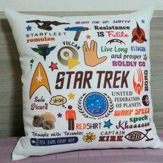 Almofada Star Trek
