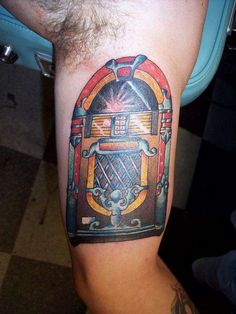 jukebox by nick at outrageous tattoo - RateMyInk.com