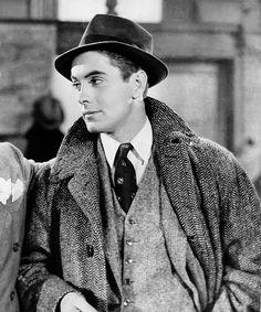 Tyrone Power (and Don Ameche's pocket handkerchief) in Love is News  (Tay Garnett, 1937)