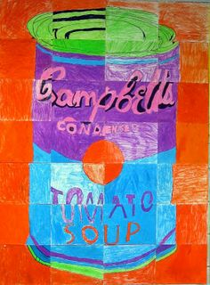 Cassie Stephens: In the Art Room: The Andy Warhol Mural