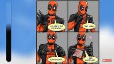 Deadpool, Boobs, Superhero, Funny, Fictional Characters, Funny Parenting, Fantasy Characters, Hilarious, Fun