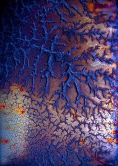 josh martin . photographs modern industrial urban decay rust print