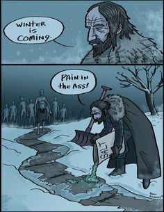 Winter pain