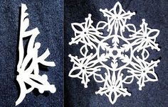 Paper Snowflakes Pattern 14