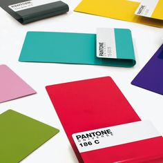 Pantone magazine shelf
