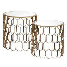 Koi End Tables - Set of 2 from Z Gallerie