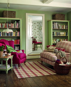 Green and Red Living Room Idea Best Of soft Green and Red Farmhouse Living Room In 2019 Country Cottage Living, Cottage Living Rooms, Living Room Red, Cottage Interiors, Home And Living, Living Room Decor, English Living Rooms, Living Style, Cozy Cottage