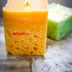 Making Ice Candles From Old Candles - Nature Hacks – Natural Solutions For Everyday Life