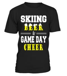 "# Skiing beer game day cheer funny t-shirt .  Special Offer, not available in shops      Comes in a variety of styles and colours      Buy yours now before it is too late!      Secured payment via Visa / Mastercard / Amex / PayPal      How to place an order            Choose the model from the drop-down menu      Click on ""Buy it now""      Choose the size and the quantity      Add your delivery address and bank details      And that's it!      Tags: skiing, oles, skis, ross-country ski…"