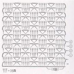 Узоры крючком для начинающих | Энциклопедия рукоделия