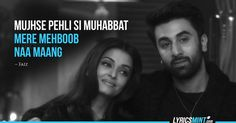 9 Crazy-in-Love Dialogues from Ae Dil Hai Mushkil Movie Love Quotes, Film Quotes, Hindi Quotes, Qoutes, Actor Quotes, Bae Quotes, Lyric Quotes, Attitude Quotes, Romantic Dialogues
