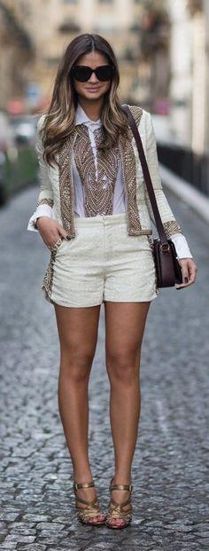 Women's Shorts For Summer 2017 Street Style Inspiration (17)