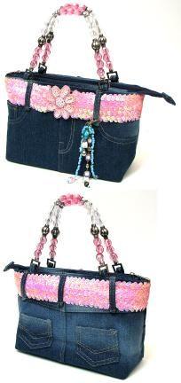 Kids Denim Purse With Pink Belt…accessorize your accessories. Denim Handbags, Purses And Handbags, Jean Purses, Pink Belt, Denim Purse, Boho Bags, Recycled Denim, Fabric Bags, Cute Purses