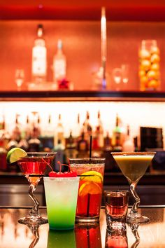 Enhance your nightlife with these Signature Drinks available in Vapor.