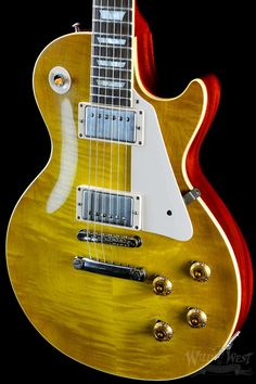 Gibson Custom Shop VOS Les Paul R8 Plain Maple Lemon Burst - Preowned - Wild West Guitars https://wildwestguitars.com/electric/gibson-custom-shop-vos-les-paul-r8-plain-maple-lemon-burst-preowned