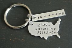 Love Knows No Distance United States by AshleyLorrenDesigns