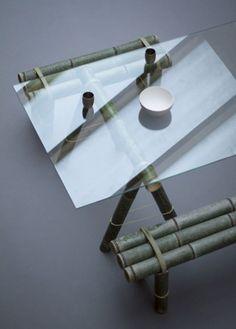 """Eurasia: Mit """"Soba"""" entwarf Stefan Diez eine Neu-Interpretation traditionell-asiatische Bambusmöbel für das japanische Designerkollektiv """"Japan Creative"""". (Foto: Jonathan Mauloubier)"""