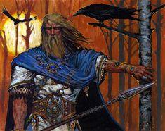 Odin, by Adrian Smith.