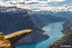 Trolltunga, Hardangerfjord, Norway by Mario Ruebsam at 500px