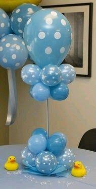 centro de mesa con globos12