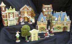 Dept 56 Disney Christmas Village - I want!