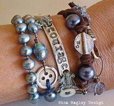 o so lovely :)  Courage wrap on wrist Nina Bagley
