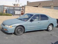 1996 Honda Accord 25th Anniversary - Cheap sedan for sale under $1000 near Los Angeles CA.