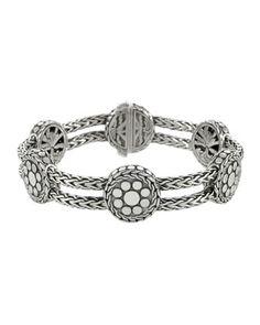 Dragon Pearl Charm Link Bracelet By John Hardy At Neiman