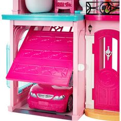 Mattel Barbie Dream House Doll 3 Story Furniture for sale online Kids Doll House, Barbie Doll House, Barbie Dream House, Dreamhouse Barbie, Bathroom Wall Cabinets, Bathroom Countertops, Barbie Sisters, Animal Room, Spacious Living Room