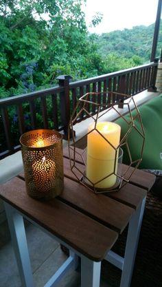#arenddesign Candle lit villa