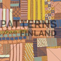 Täkki by Kahandi Design   #patternsfromagency #patternsfromfinland #pattern #patterndesign #surfacedesign #kahandidesign