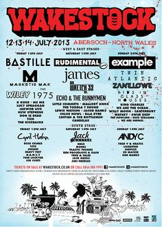 Wakestock 2013 - Europe's Largest Wakeboard Music Festival, 12th, 13th, 14th July