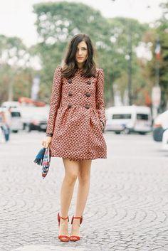 Vanessa Jackman: Paris Fashion Week SS 2014....Eleonora