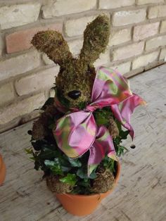 Moss Bunny by French Peas Flower Shop Tyler, TX