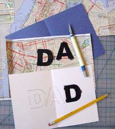 Do dads need directions? A cute #DIY Father's Day card idea.