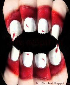 170 Best Halloween Nails Images On Pinterest Halloween Nail