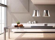 Moderne Dunstabzugshaube als Blickfang in der Küche - 100 Design Ideen