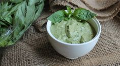 Vegan, oil-free, and gluten-free, this Basil Cream Sauce is ready to top just about anything.
