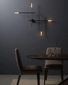 """Lighting VENICEM Italy #lighting #lightingdesign #walllight #design #instadesign #interiordesign #architecture #instalight #Venicem"""